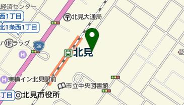 北見芸術文化ホールの地図画像