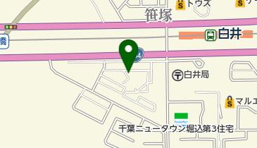 中銀ライフケア白井の地図画像