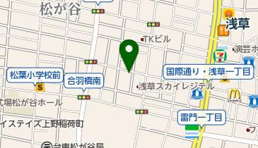 かさねや浅草店の地図画像
