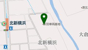 K-powersテニスアカデミー北新横浜の地図画像