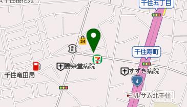 ミサキベーカリーの地図画像