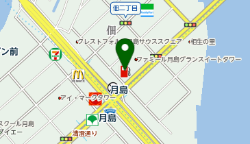 Dr.Drive 月島SS / 東新エナジー(株)の地図画像