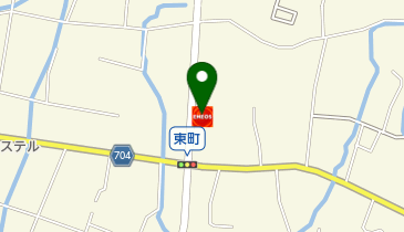 富士吉田昭和通SS / 三協油業(有)の地図画像