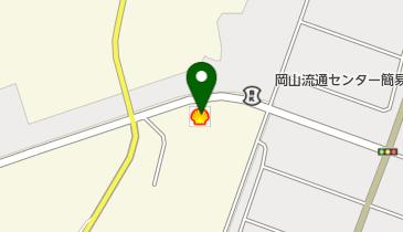 岡山流通センターSS / (株)マティクスリテールサービスの地図画像