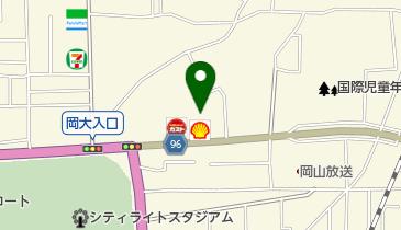 セルフ岡大前SS / (株)マティクスリテールサービスの地図画像