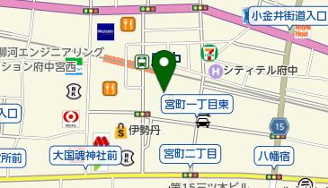 キャンドゥ 府中くるる店の地図画像