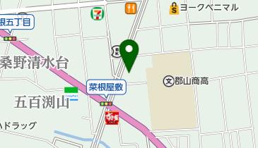 モーニング 菜根本店の地図画像