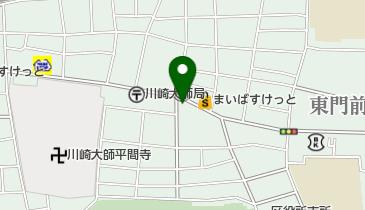 フラワーの地図画像