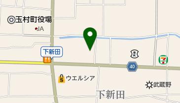 たぬきの地図画像