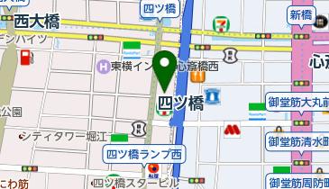 麺乃庄 つるまる饂飩 四ツ橋店の地図画像
