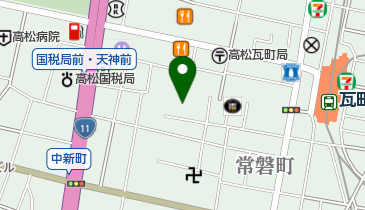 music inn GRANDFATHER'Sの地図画像