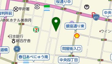 ドーミーイン甲府の地図画像
