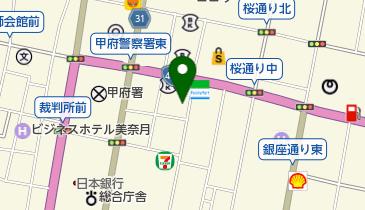 北斗辛軒 (甲府店)の地図画像