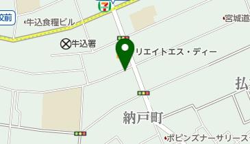カレーや からかうあの地図画像
