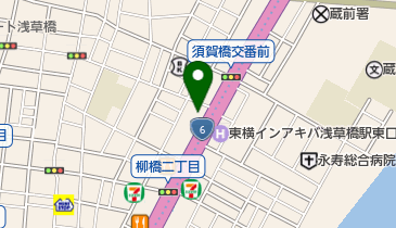 江戸蕎麦手打處あさだの地図画像