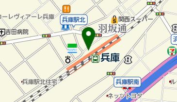 麺家 (兵庫店)の地図画像