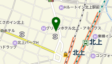 ビアレストラン アリーブ 北上店の地図画像