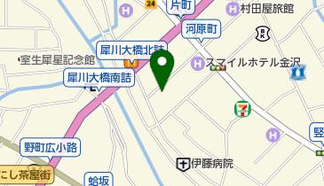 金澤拉麺 genの地図画像