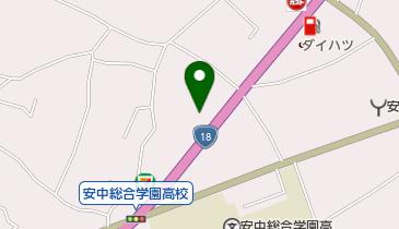 朝鮮飯店 (安中店)の地図画像