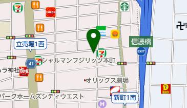 そば処乃ぶよしの地図画像
