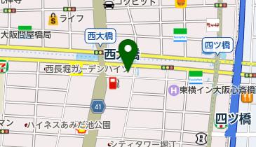 そば処四ツ橋田代の地図画像