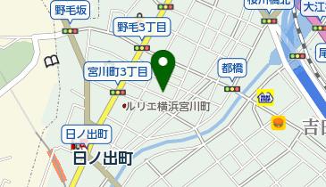 お好み焼き みかさの地図画像