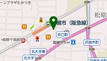 鶴橋風月 高槻店の地図画像