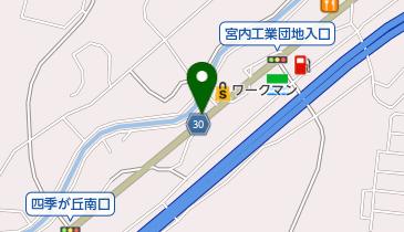 コーヒーハウス田の地図画像