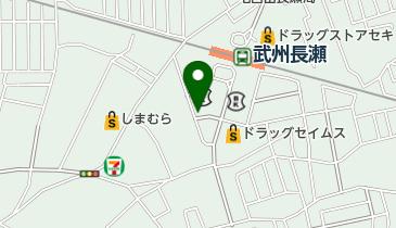 花のれんの地図画像