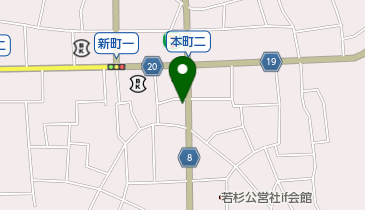 居酒屋 燿の地図画像