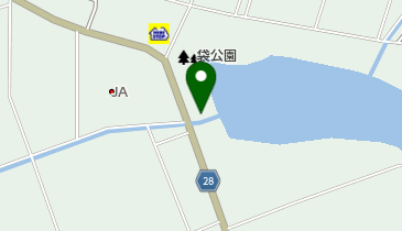 焼肉レストラン牛車の地図画像