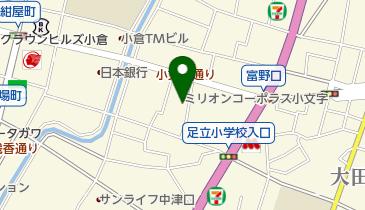 東秀苑 小文字店の地図画像