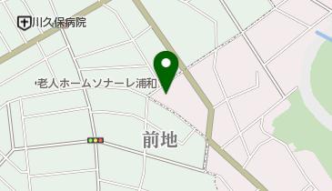前地屋そば店の地図画像