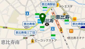 恵比寿 丸屋の地図画像