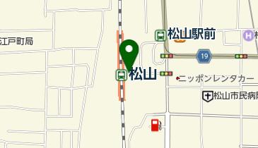 デリー 松山駅店の地図画像
