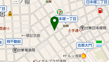 池上幸寿司の地図画像