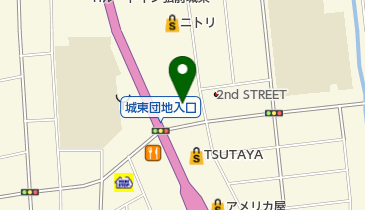 ダイニング菜々 弘前店の地図画像