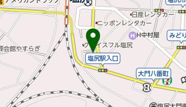 焼とり大吉 塩尻店の地図画像