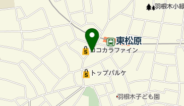 珈琲館こはくの地図画像