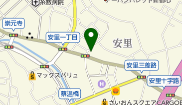 インタリュードミュージックラウンジの地図画像