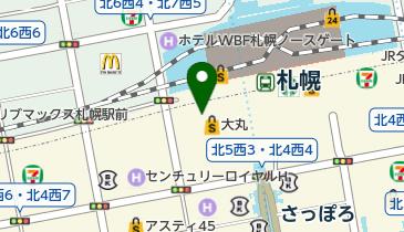 宮川本廛 大丸札幌店の地図画像