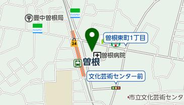 Refrain 曽根本店の地図画像