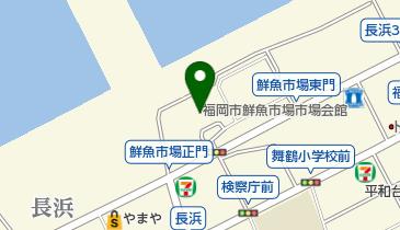 博多魚がし 西側食堂街店の地図画像