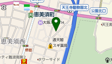 BAR TAROの地図画像