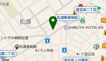 春木屋の地図画像