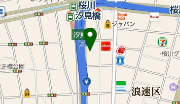 HOME BAR&KITCHEN HANAの地図画像