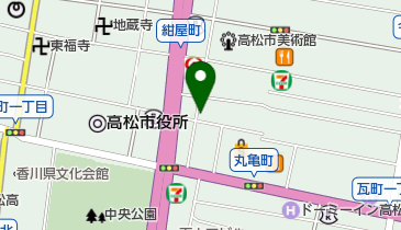 BAR Snowの地図画像
