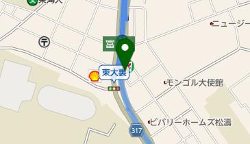 そば処 絆の地図画像