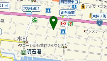 かねひでの地図画像