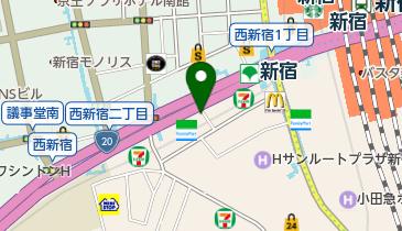 小諸そば 新宿南口店の地図画像